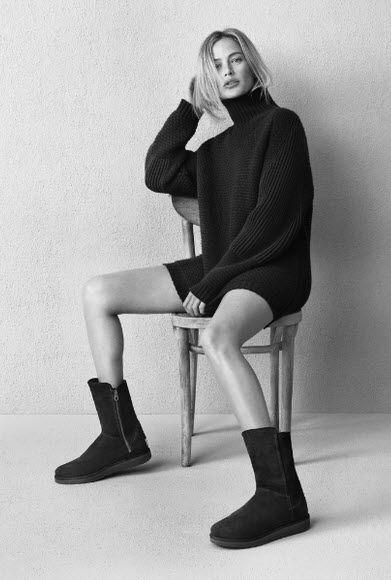 Carolyn Murphy Reveals UGGs New Look