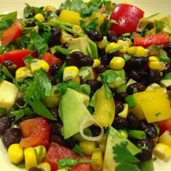 Black Bean and Corn Salad II from all recipes