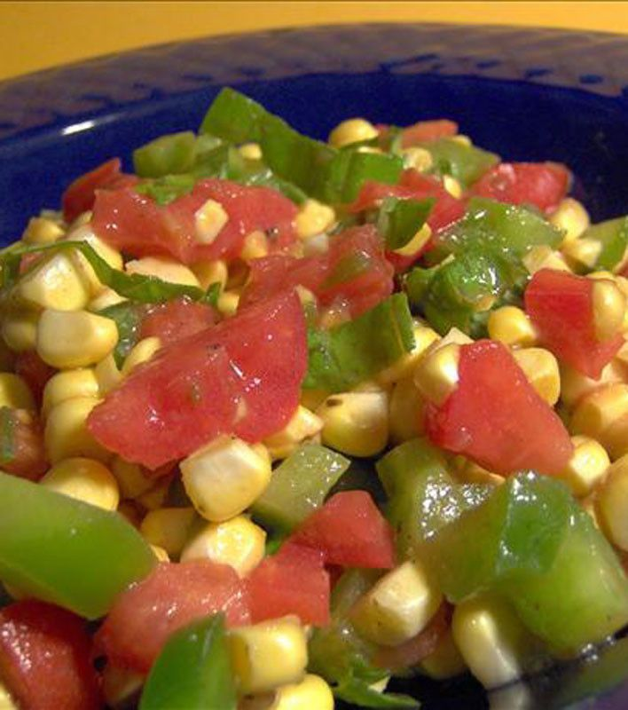 Summer Corn Salad | SIDE DISHES | Pinterest