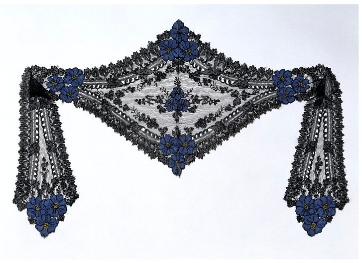 ca. 1860 cap with lappets