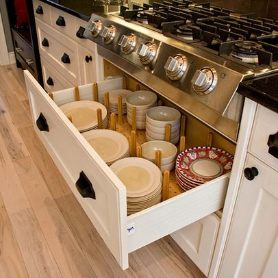 Under Cabinet Drawers Kitchen  Bhg Centsational Style - Kitchen cabinet drawer