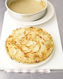 Martha Stewart's Leek and Potato Galette. Delicious. It's become a ...
