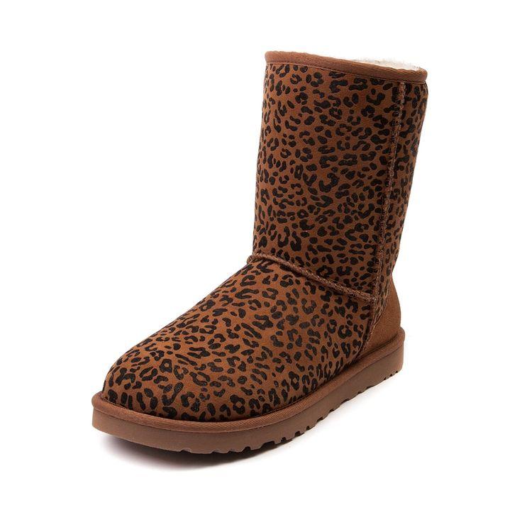 leopard sparkle ugg boots