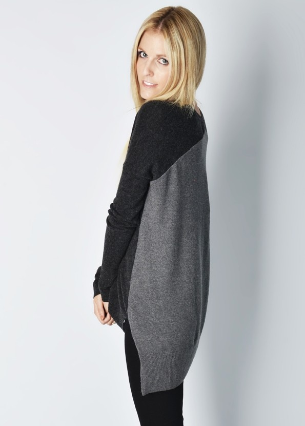 Yoon Two Tone Pullover - Sweaters - Womens Online Clothing Boutique