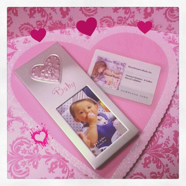 valentine heart frame craft