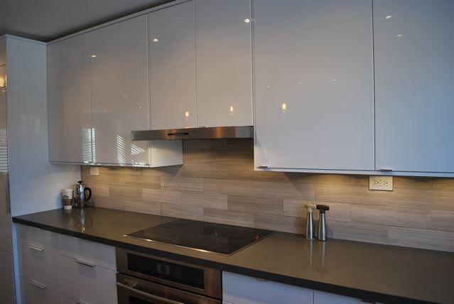 Ikea Pics Glossy White Galley Kitchens Pinterest