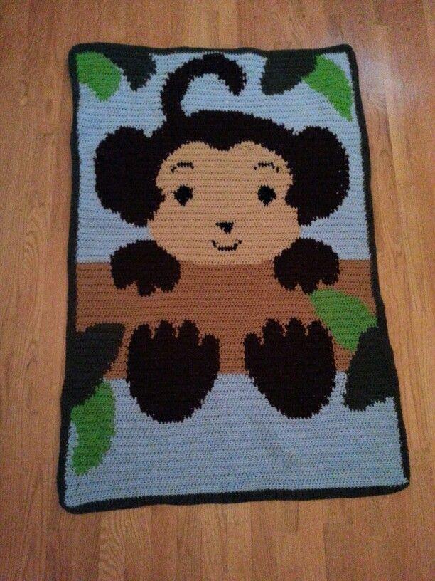 Jungle Monkey Pattern from; http://www.artfire.com/ext ...