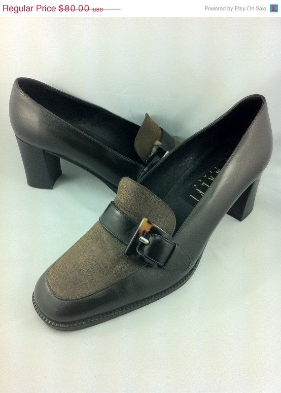 25% Off SHOP SALE, Gorgeous Vintage AMALFI Shoes. Made in Italy