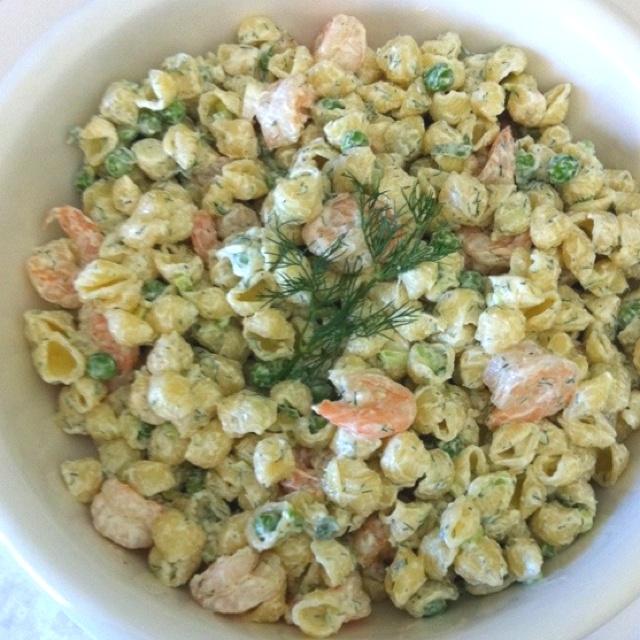 Summer shrimp pasta salad | Recipes | Pinterest