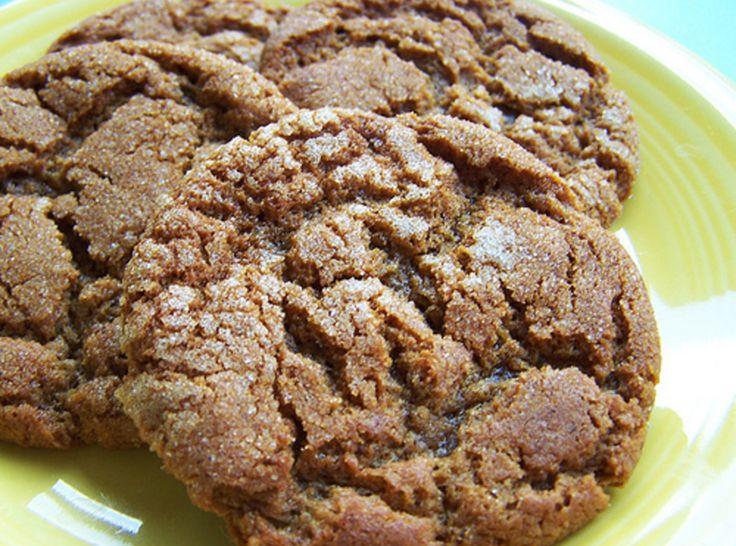 Molasses Crinkle Cookies | Yummy | Pinterest