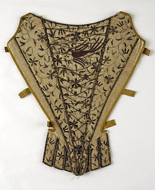 Stomacher     first third 18th century