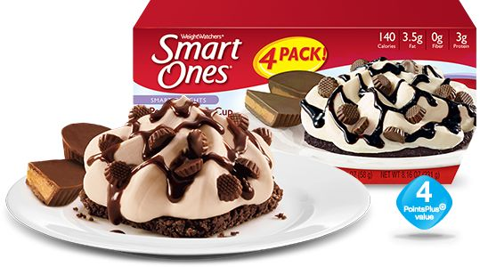 Peanut Butter Cup Sundae - Weight Watchers® Smart Ones®