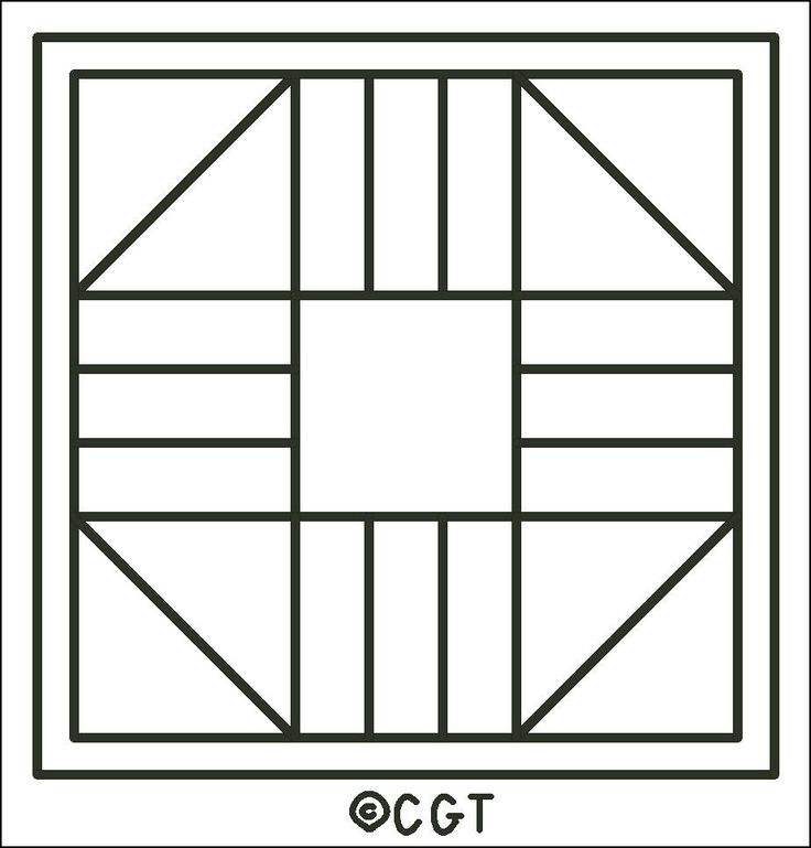 This is a photo of Breathtaking Free Printable Quilt Block Patterns