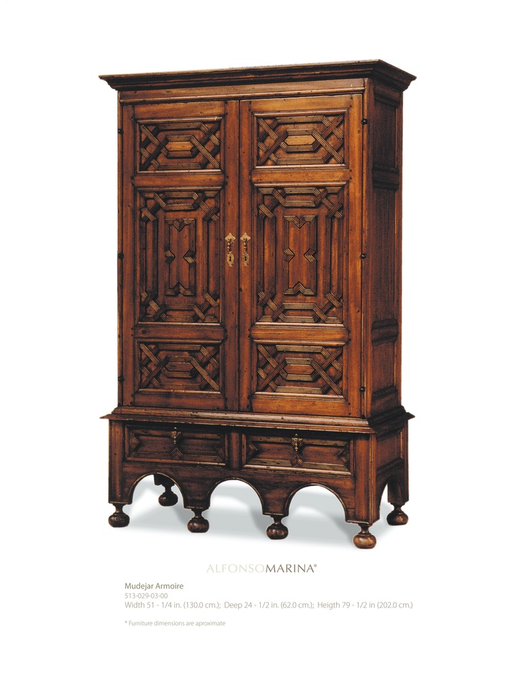 mudejar armoire by alfonso marina ebanista. Black Bedroom Furniture Sets. Home Design Ideas