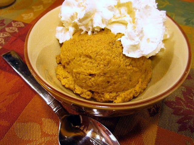 Pumpkin Custard – sugar free Could add protein powder and perhaps ...