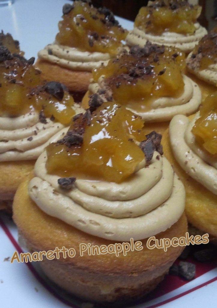 How to Make Amaretto Pineapple Cupcakes Recipe