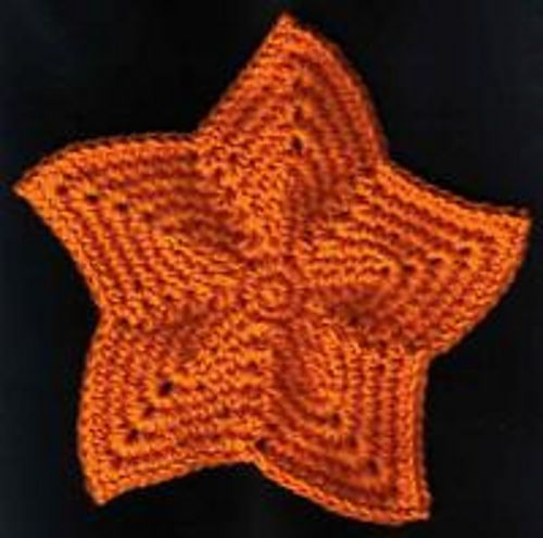 Knitted Dishcloth Pattern With Star : Pin by Joy Merrill on Crochet Household/Decor Pinterest
