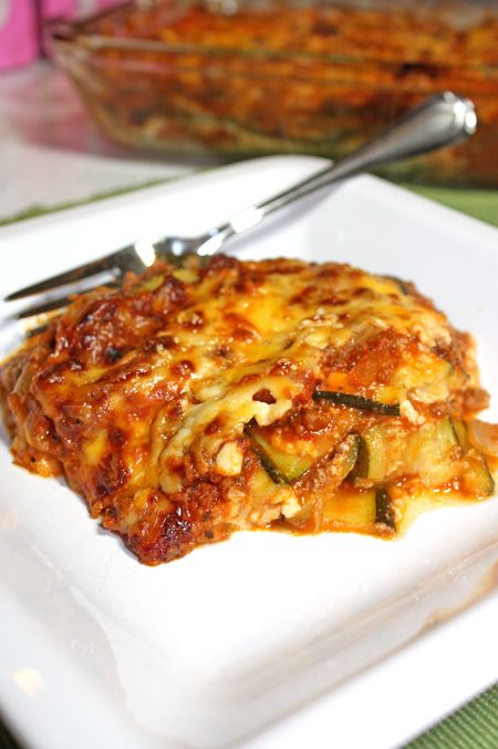 Noodle-Less-Lasagna busy but healthy