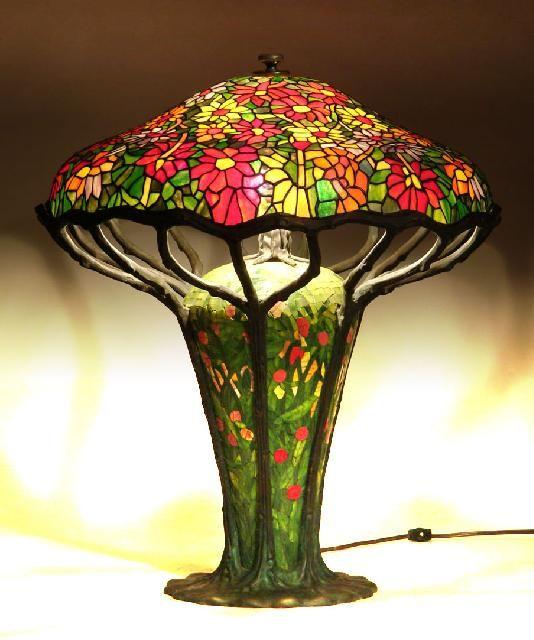 tiffany zinnia lamp watt 39 s up pinterest. Black Bedroom Furniture Sets. Home Design Ideas
