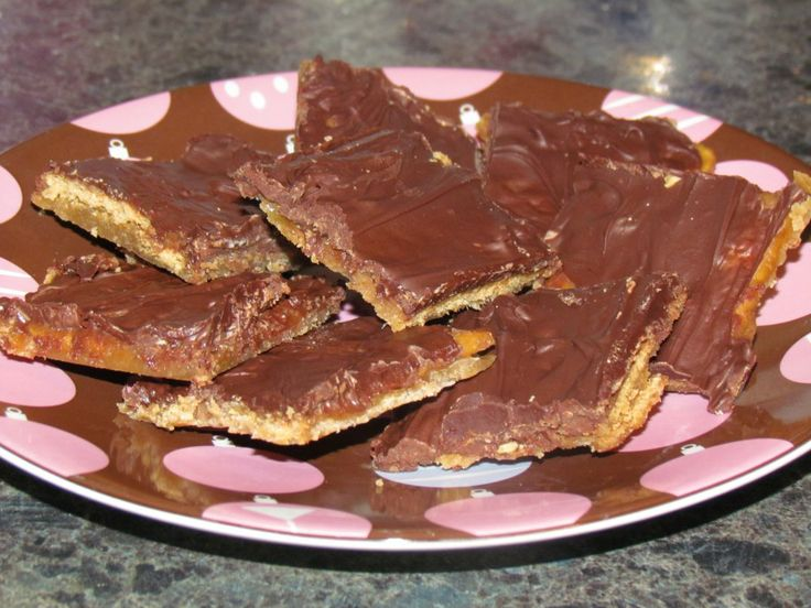 Soda Cracker Candy | Candy & Fudge Recipes | Pinterest