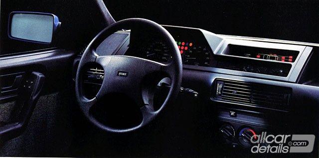 1989 fiat tipo interior fiat tempra tipo pinterest for Interior fiat tipo