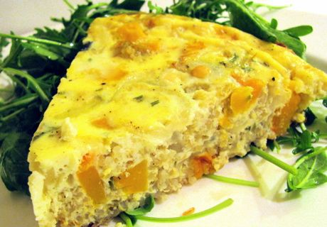 Butternut squash & quinoa frittata - made it once befoe & it was easy...