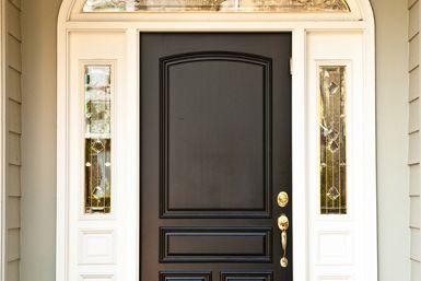 steel doorse how to paint steel door. Black Bedroom Furniture Sets. Home Design Ideas