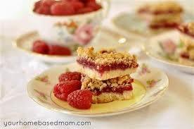 raspberry oatmeal cookie bars | Food & Drinks | Pinterest
