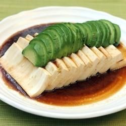 Silken tofu with avocado recipe | Savory | Pinterest