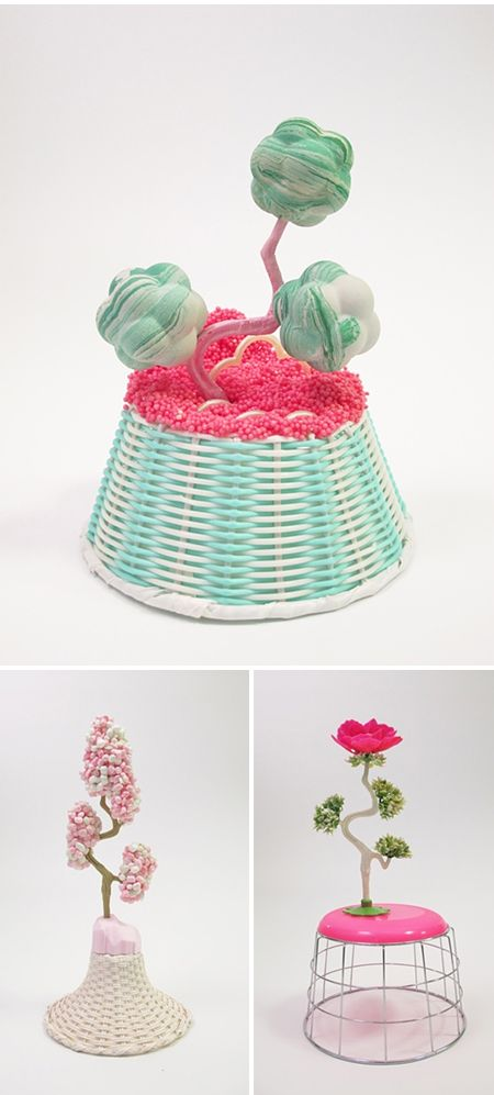 Amy Santoferraro assemblage sculptures (+ clay)