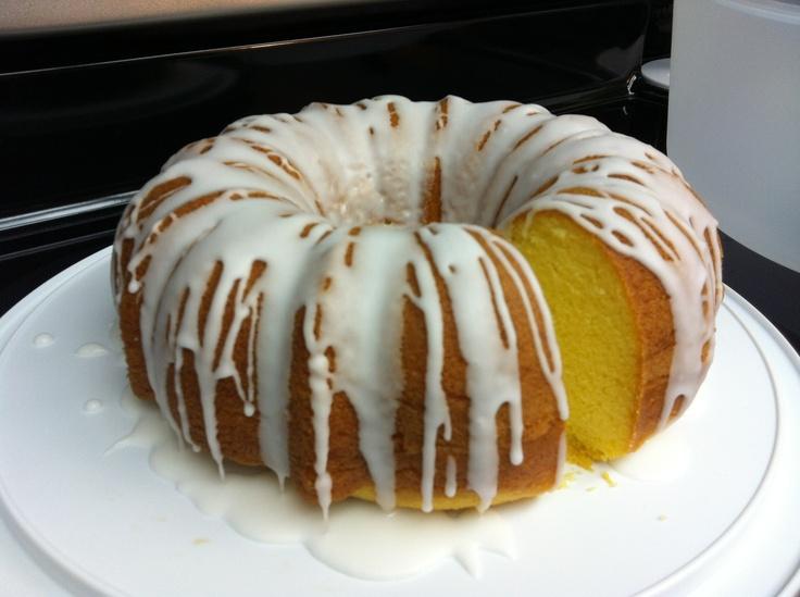 Lemon Bundt Cake Cream Cheese Frosting