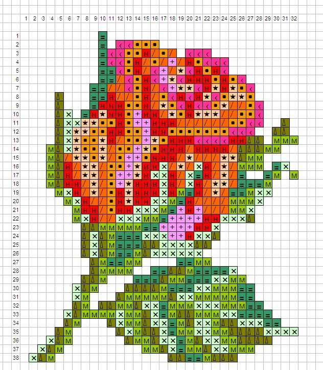 Вышивки из бисера схемы цветы 65