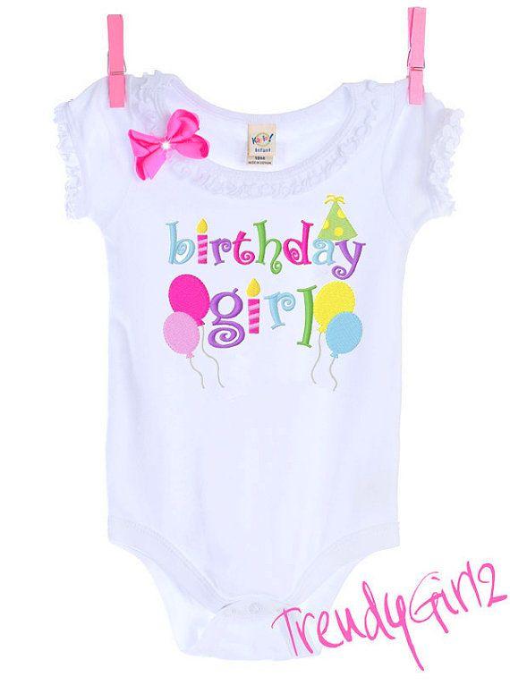 Birthday Girl Tee Shirt Onesie Dress Design Your Own