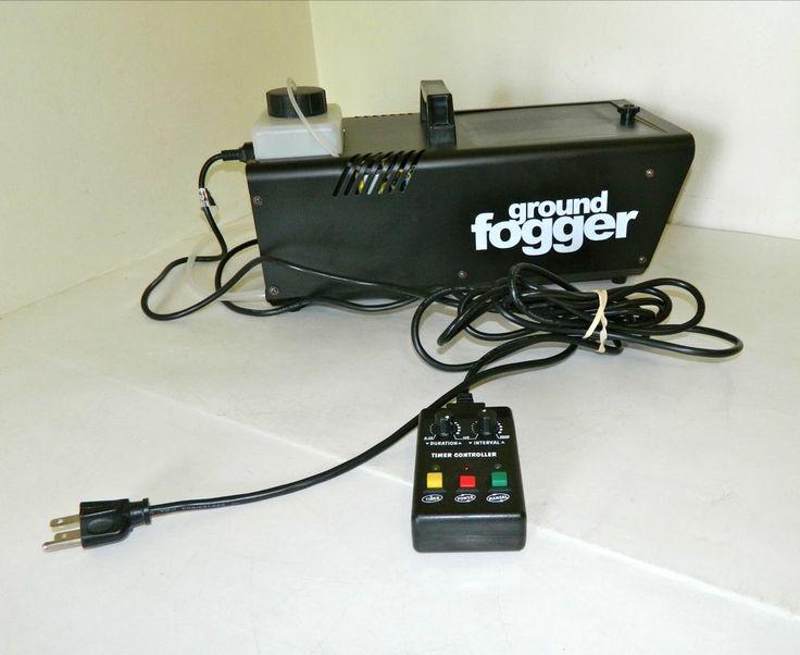 ground fogger fog machine