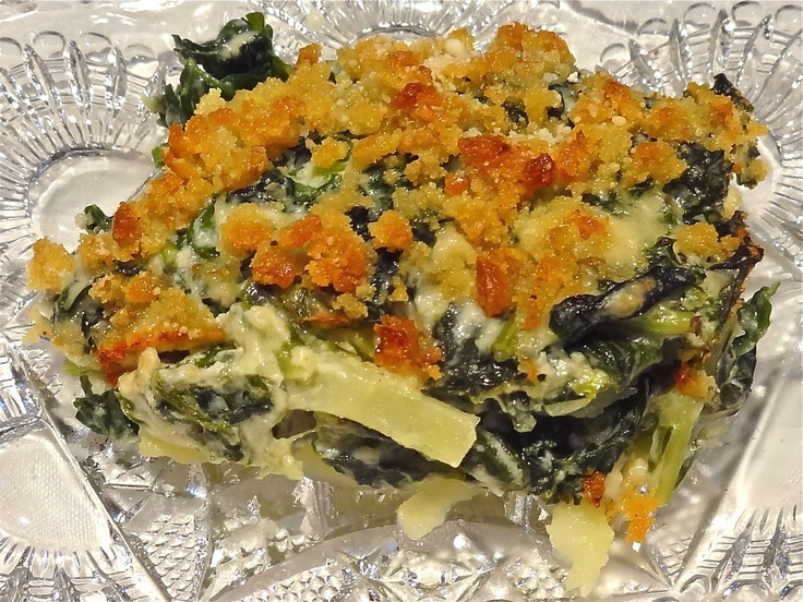 Kale and Potato Gratin by Ronnie Fein | Food | Pinterest