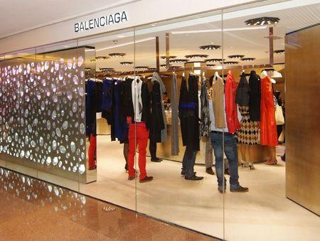 Balenciaga store balenciaga storedesign balenciagachina for Balenciaga store in soho