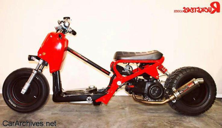 Honda Ruckus Zoomer 50cc Motors Pinterest