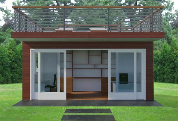 backyard office home office design pinterest