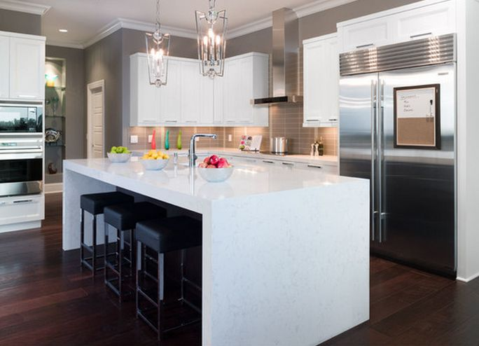 Cabinets to go kitchen islands - Pin By True North Quartz On Go Cambria Or Go Home