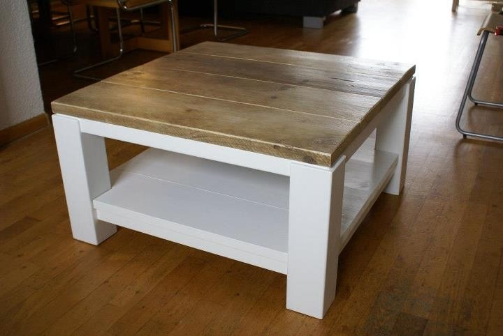 Coffee Table Used Wood For The Home Pinterest