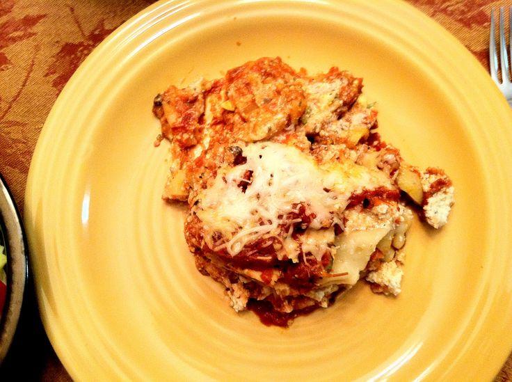 Veggie Lasagna (crockpot) | Crockpot | Pinterest