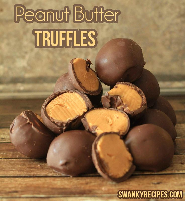 peanut butter truffles recipe- I got into a fight with my mom while ...