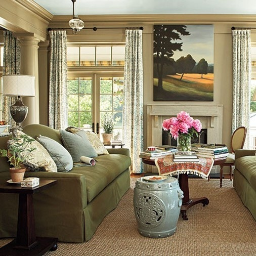 living room southern living home pinterest