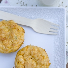could not love these more... Sweet Potato Quiche Cups