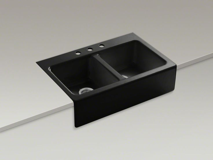 Black Farmhouse Sink Renovate Pinterest