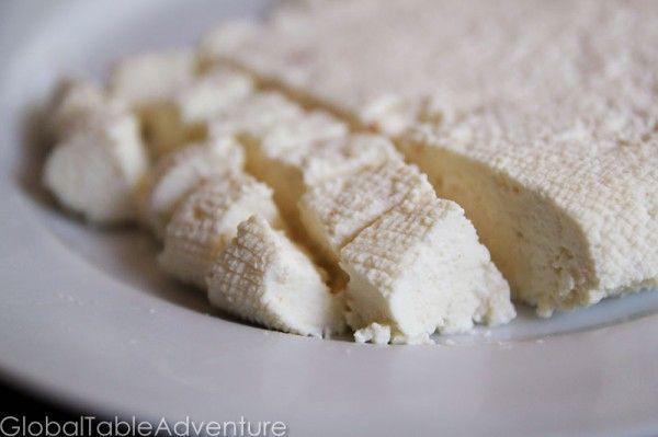 Homemade Paneer/Panir (cheese) | Recipe