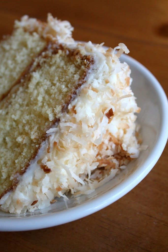 Lemon-Filled Coconut Cake | Cakes and cupcakes | Pinterest