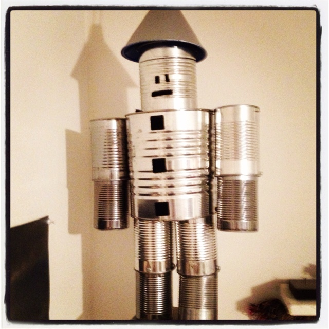 Tin man made out of cans cioccatapioca 39 s world of for Tin man out of cans