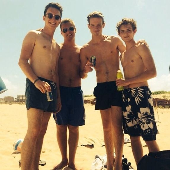 Robbie Kay Shirtless Robbie shirtless...your welcome. via milli