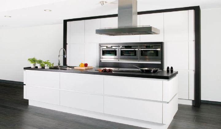 Keuken Design Met Cachet : De Design Pure White is een Belgische ...